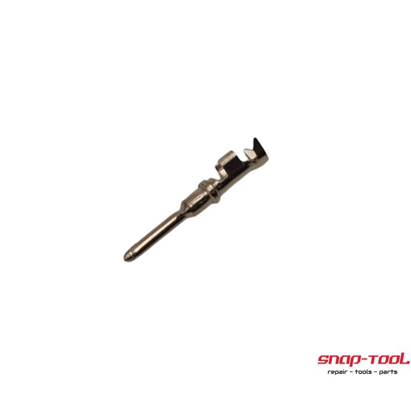 Deutsch Stecker Pins männlich  1 Stück  gestanztDeutsch Größe 16 Vollkontakt 1060-16-0122. 16-18 AWG