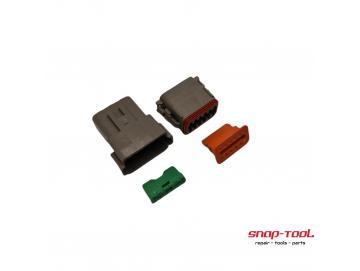 Deutsch Stecker Set DT 12 P & 12 S ohne PinsInhalt:DT 04-12 PDT 06-12 S