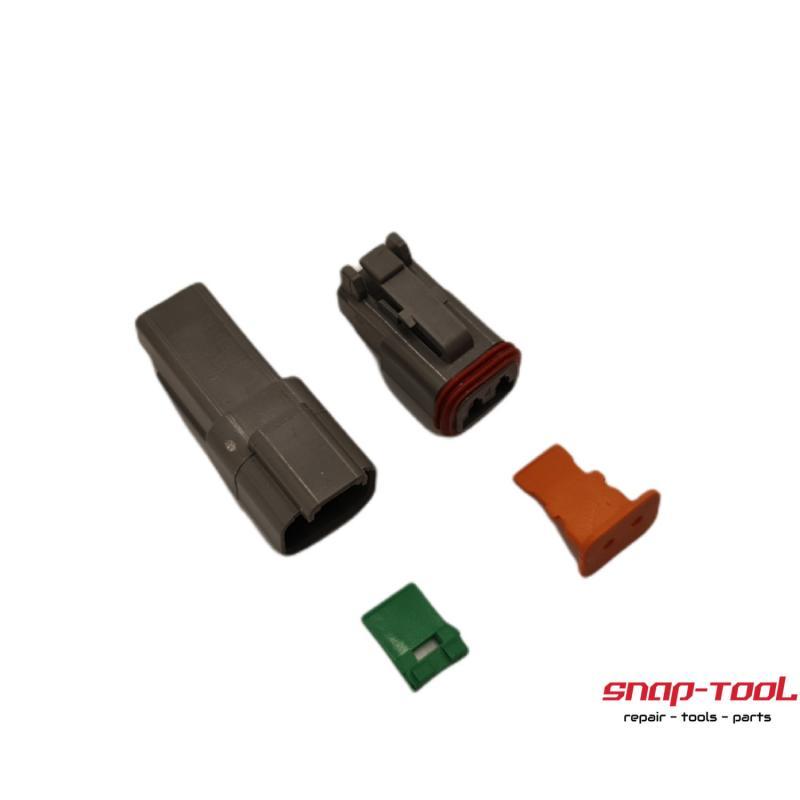 Deutsch Stecker Set DT 2P & 2S ohne Pins