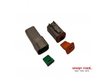 Deutsch Stecker Set DT 6 P & 6 S ohne Pins