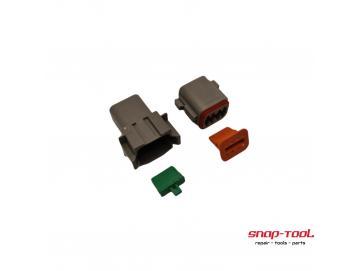 Deutsch Stecker Set DT 8 P & 8 S ohne PinsInhalt:DT 04-8 PDT 06-8 S