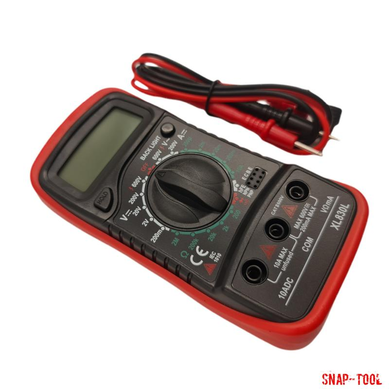 XL830L Handheld Digital-Multimeter LCD Hintergrundbeleuchtung
